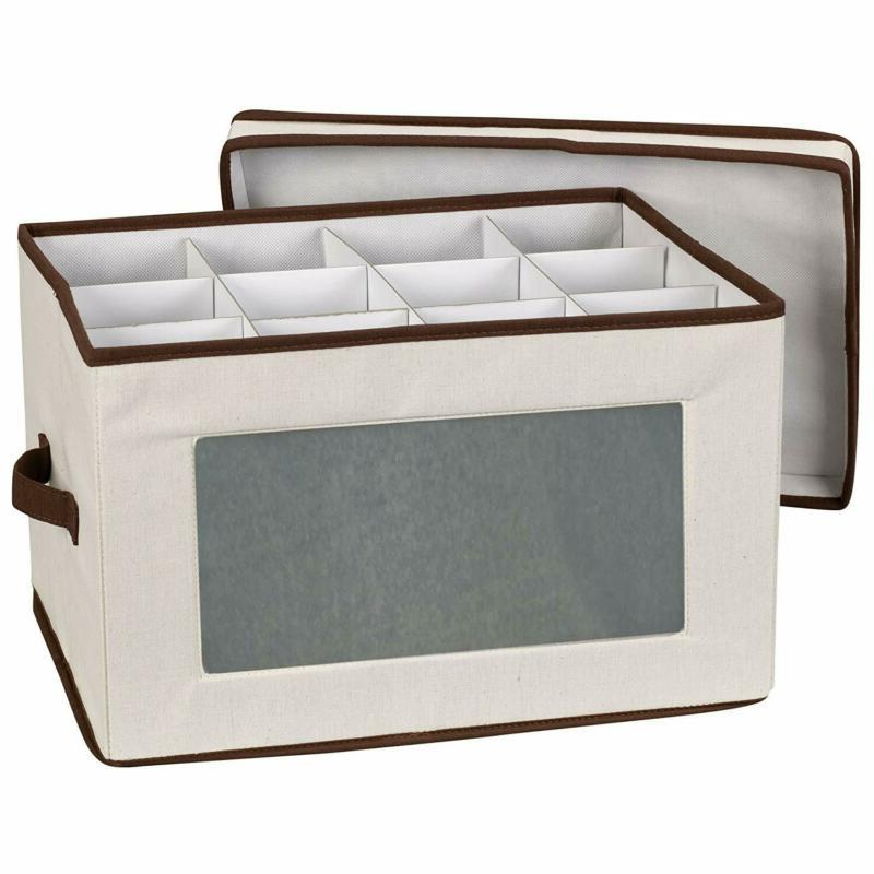 Household Essentials 542 Vision Storage Box With Lid And Han