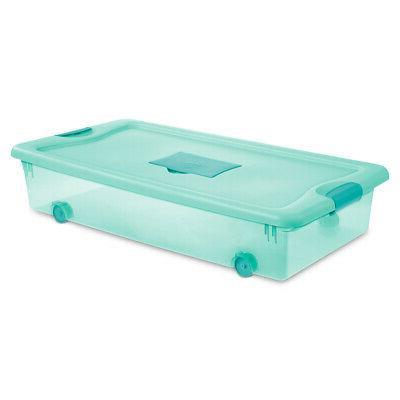 56 quart wheeled fresh scent storage container