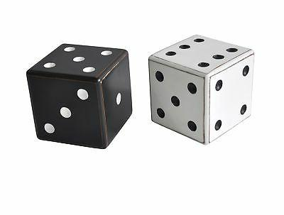 56917 wooden dice table decor set of