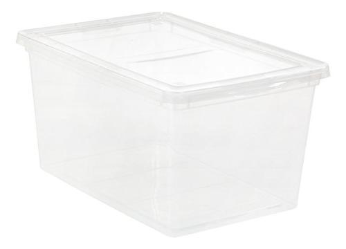 58 quart clear storage