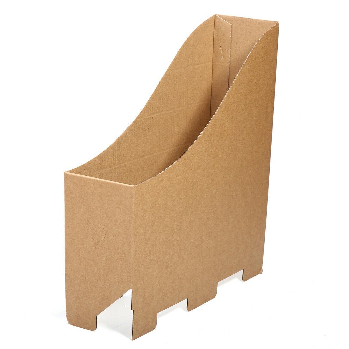 5pcs File Box Folder Paper Table Storage for