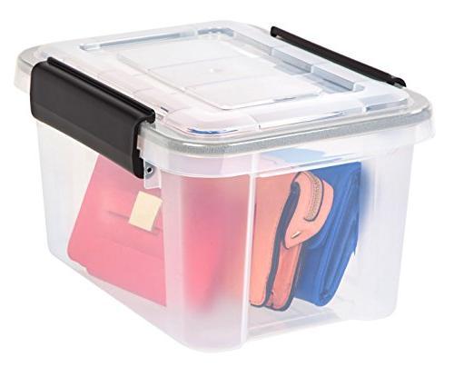 IRIS Quart Storage Box, Clear