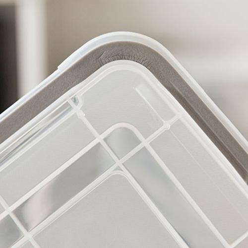 IRIS 6.5 WEATHERTIGHT Storage Box, Clear
