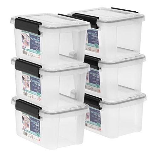 6 5 quart weathertight storage