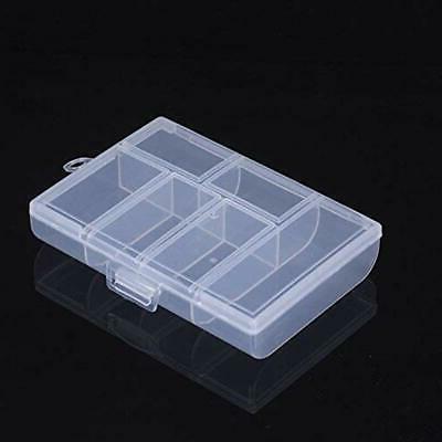 6 Craft Supplies Storage Slots Plastic Box Organizer For Cosmetics