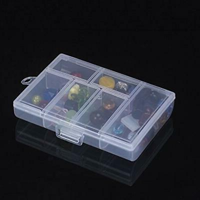 6 Craft Supplies Storage Slots Plastic