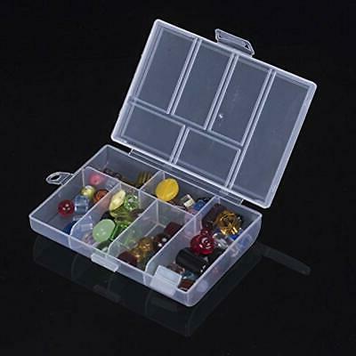 6 Craft Supplies Storage Slots Plastic Organizer For Cosmetics