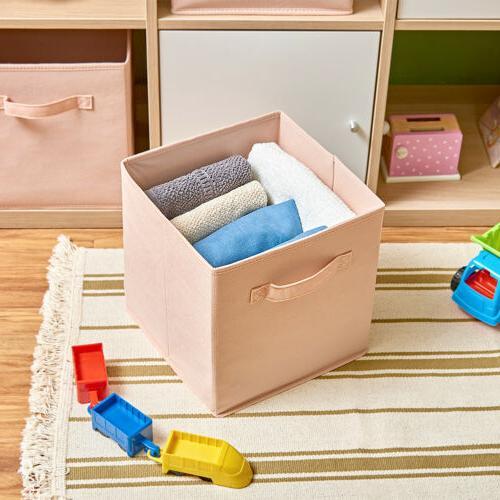 6 Storage Basket Bins organizer Boxes inch container