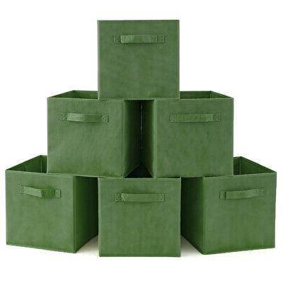 6 Home Storage Bins organizer inch