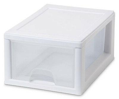 Sterilite Small Stacking Drawer Container Closet