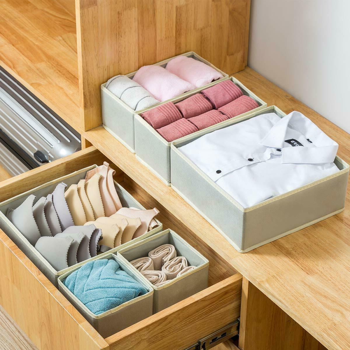 6 Storage Drawer Organizer