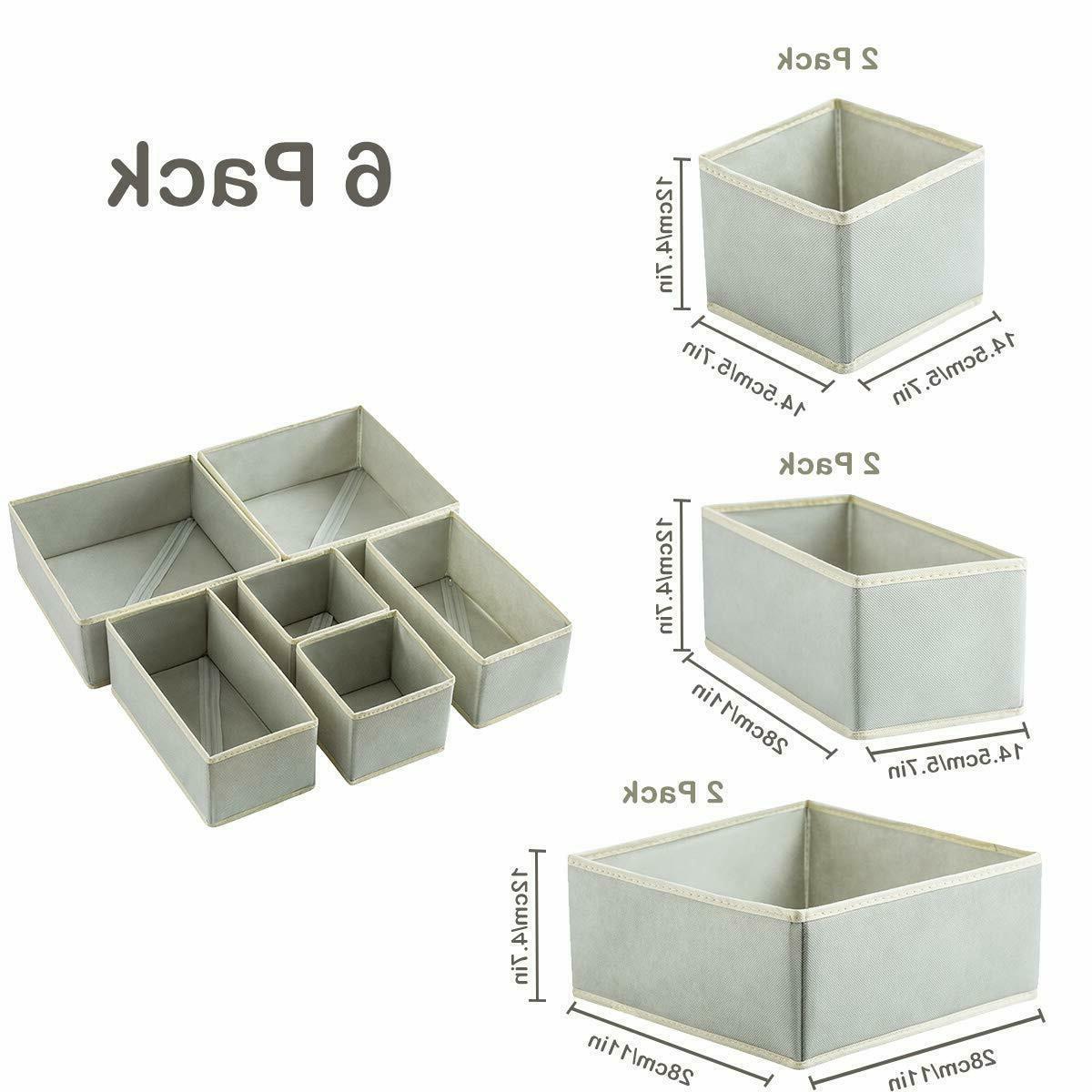 6 Pack Foldable Storage Closet