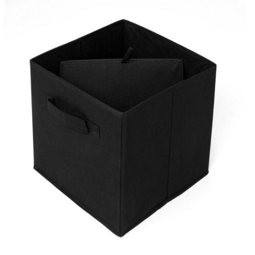 6 Foldable Cube Storage Boxes Organizer Drawers