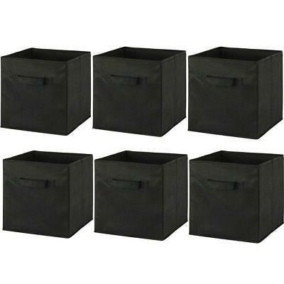 6 Foldable Cube Organizer