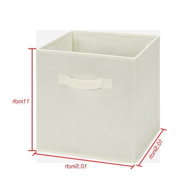 6 Foldable Storage Cubes Box Basket