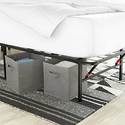 6 Pack Cubes Collapsible Bins Shelf
