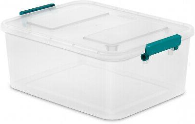 6 Storage Box Sterilite Lid