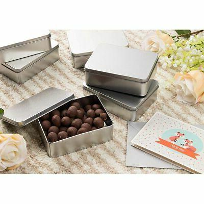 6-Pack Rectangular with Lid, Storage Container for