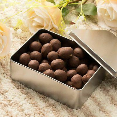 6-Pack Rectangular Box with Lid, Storage for Treats,