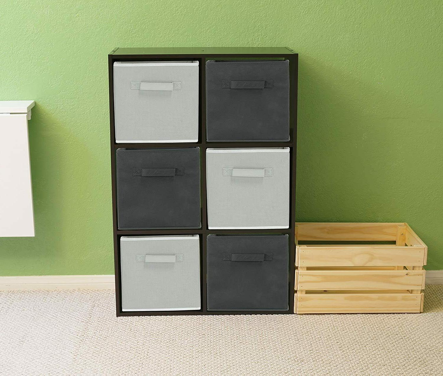 6 Pack - Foldable Storage Dark