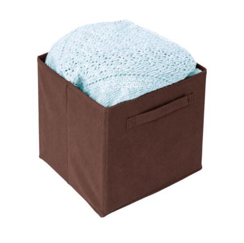 6 PCS Storage Organizer Cube Box Basket Drawer Container