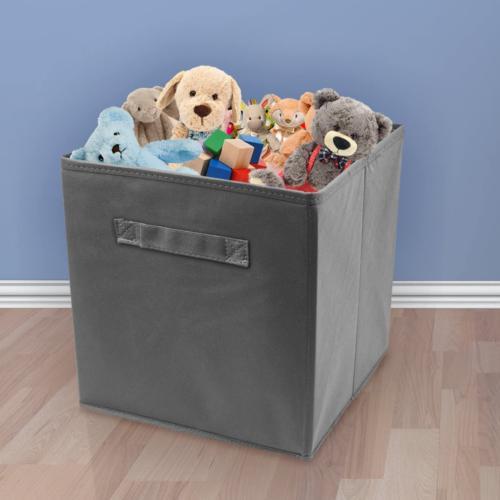 6 Pcs Fabric Basket Bin Storage Organizer Box New