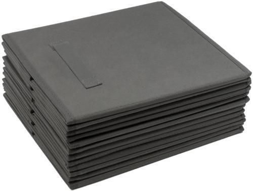 6 Pcs Fabric Bin Storage Organizer Box New