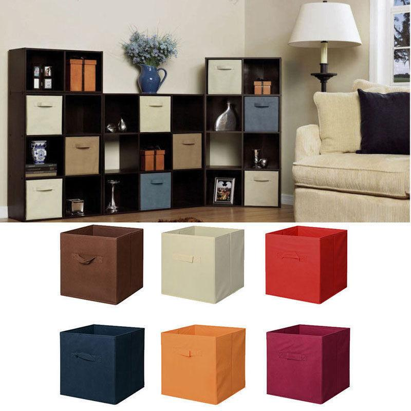 6 Pcs Home Storage Organizer Cube Drawer Container