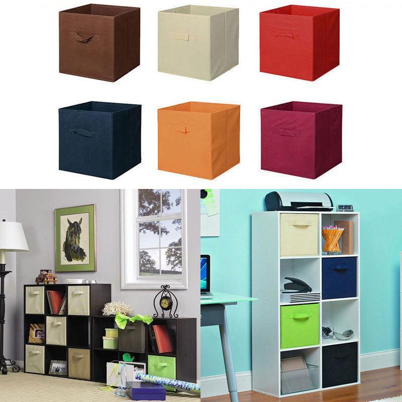 6 Pcs Home Storage Box Organizer Cube Container