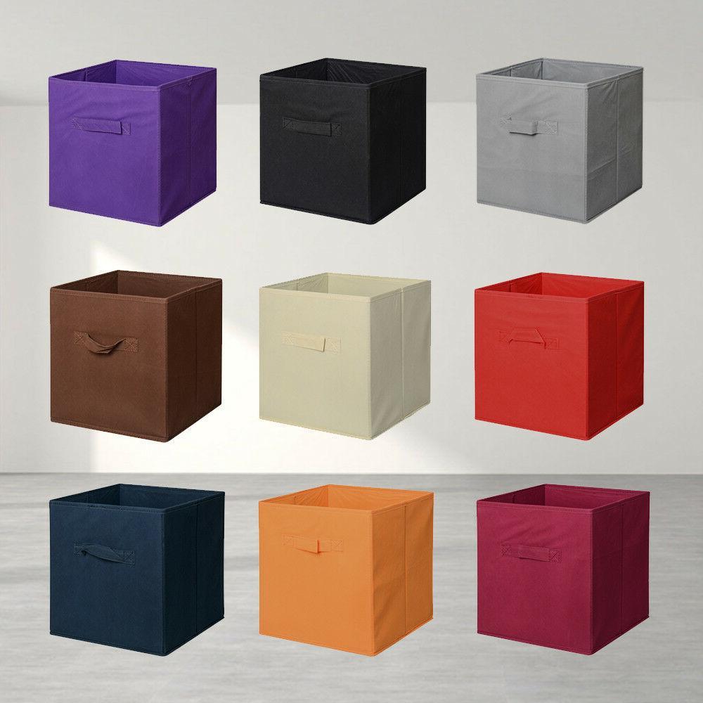 6 PCS Storage Bins Cube Basket Container