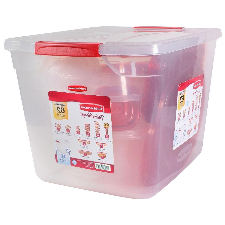 62 Food Storage Container Kitchen Plastic
