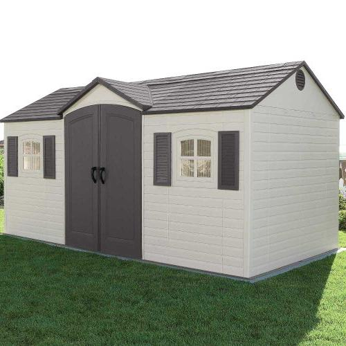 Lifetime 6446 Outdoor Shed Shutters, 15 Feet