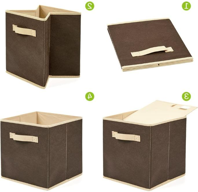 6x Bins Container Organizer Foldable !