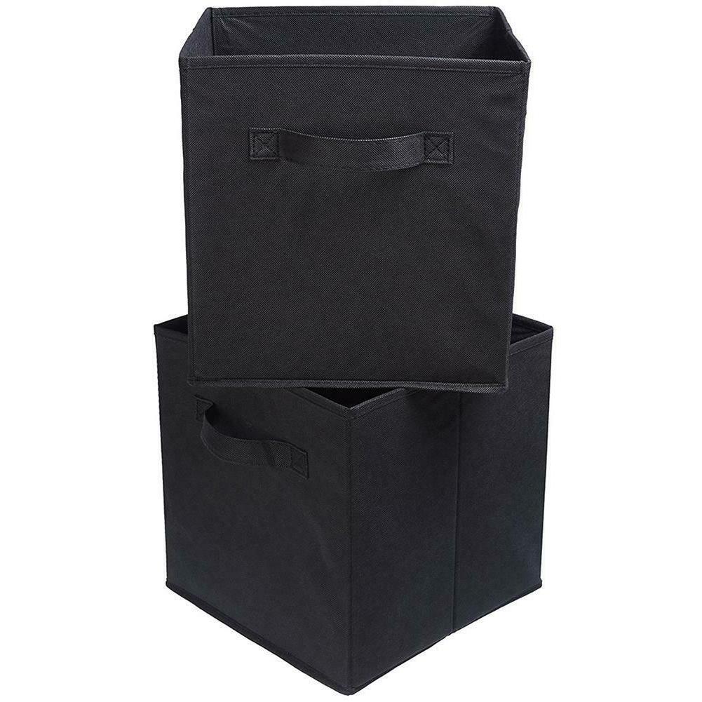 6x Storage Bins Basket Drawer Container