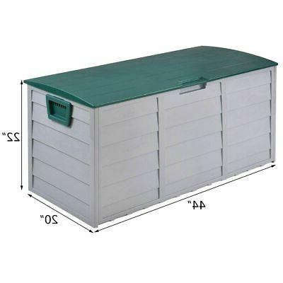 79 Deck Storage Box Patio Garage Container