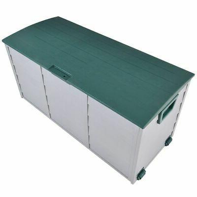 "79 Gallon 44"" Deck Garage Bench Container"