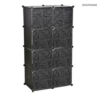 8 Slot Tower Storage Bathroom Box Furniture Dresser