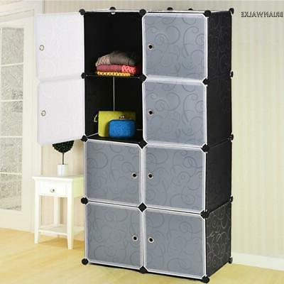 8 cube tower organizer storage bathroom cabinet