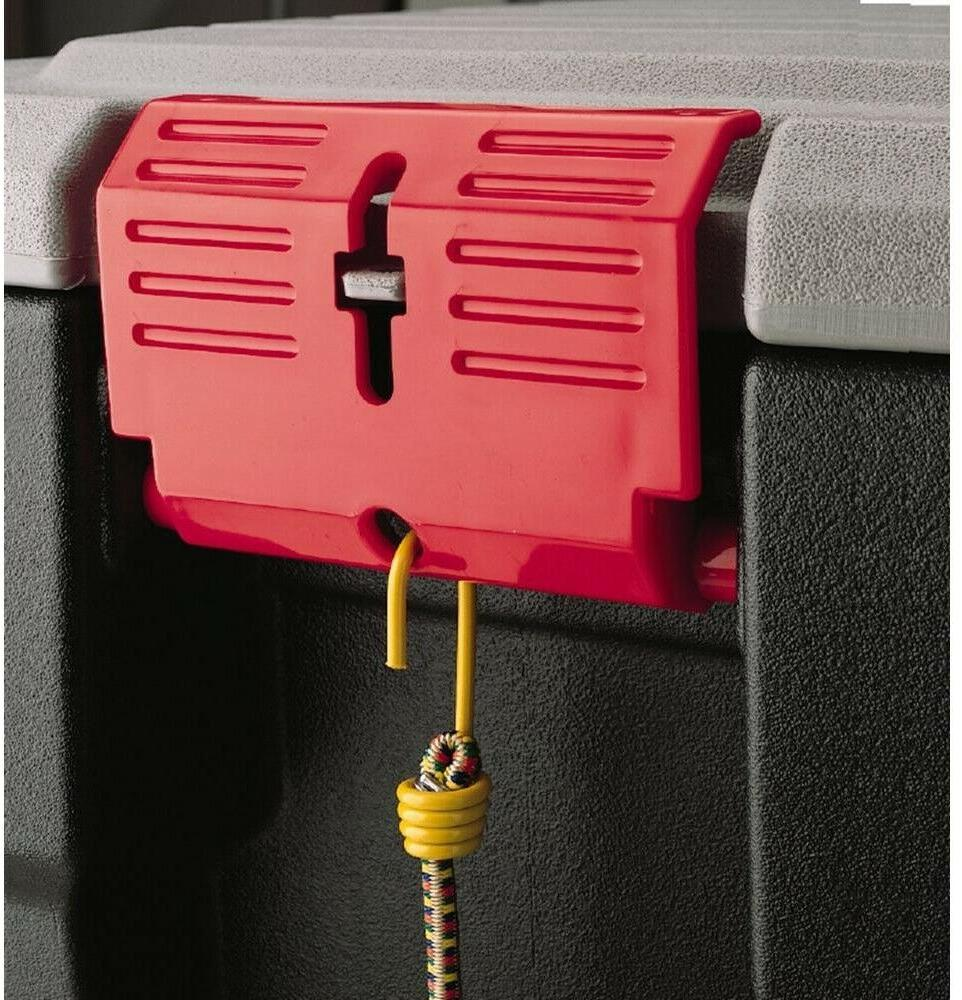Rubbermaid 8-Gal Action Packer Storage Lockable Organize Stackable