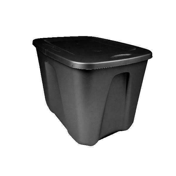 8 Tote Box 18 Stackable Bin Container Lid