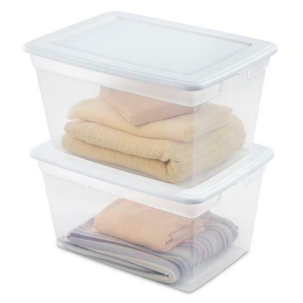 Bin Box Plastic Stackable Container Lid 58