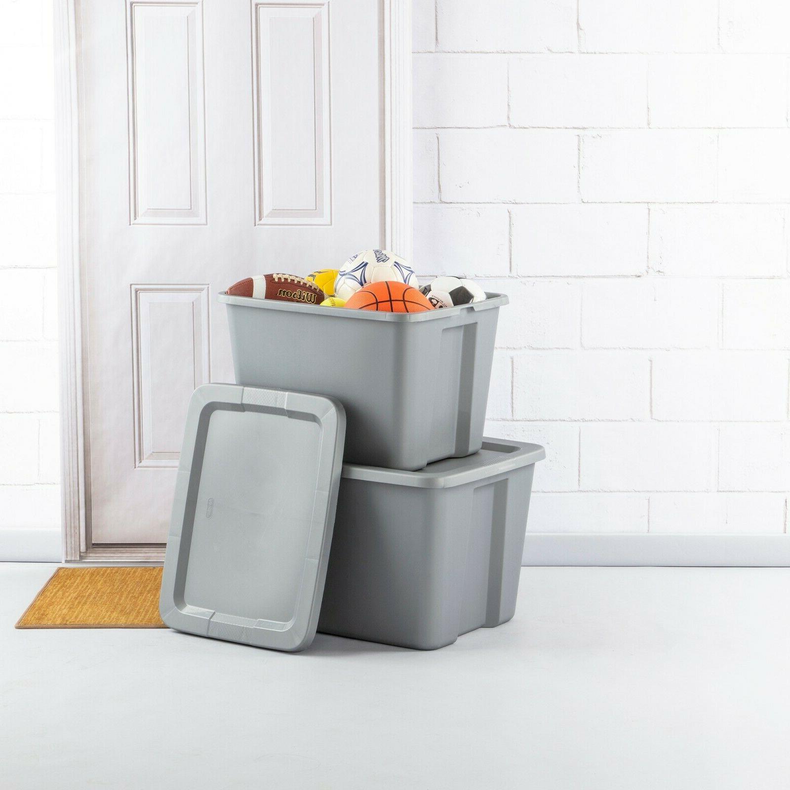 8 pk Plastic Storage Container Kids