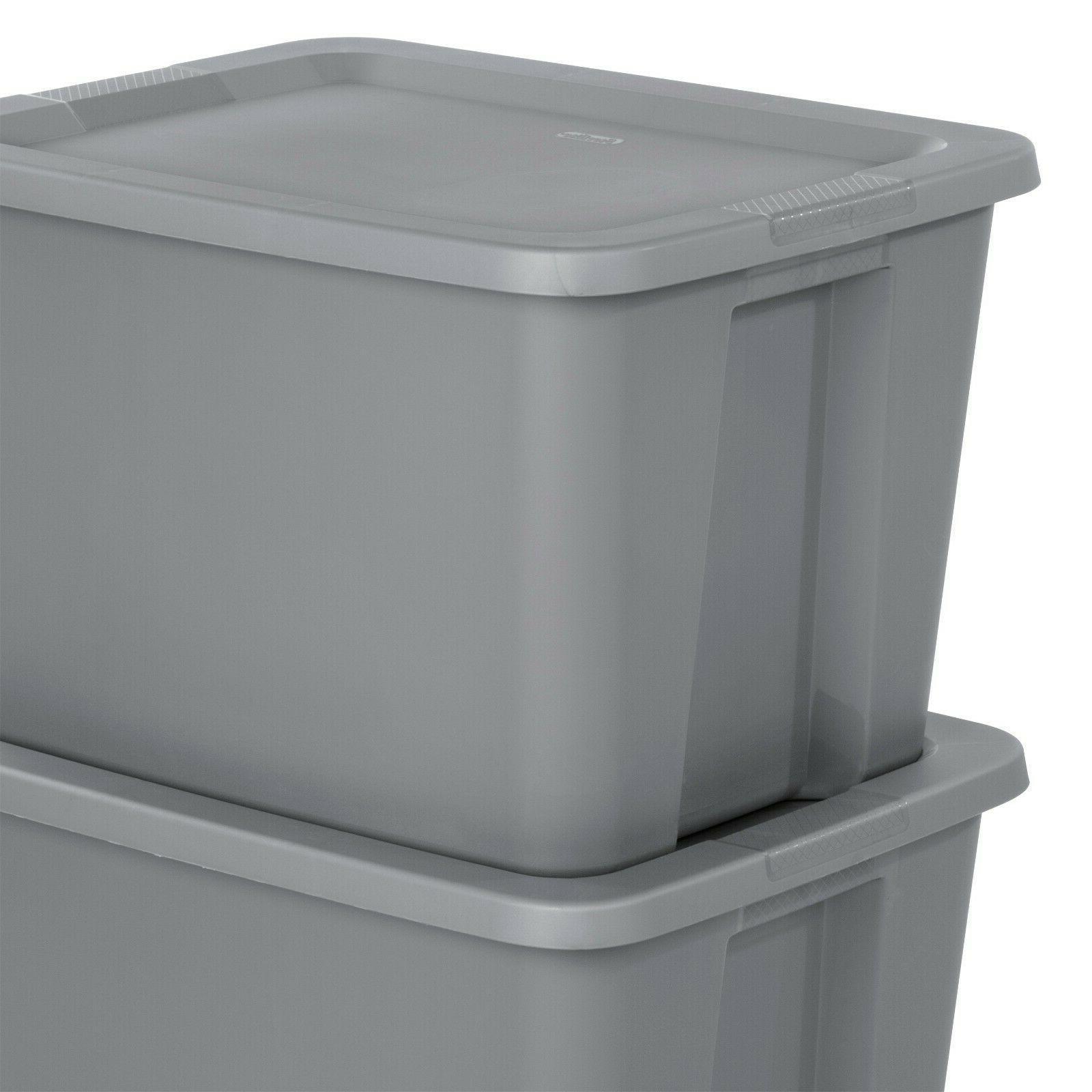 8 pk Plastic Container 18-Gallon Kids