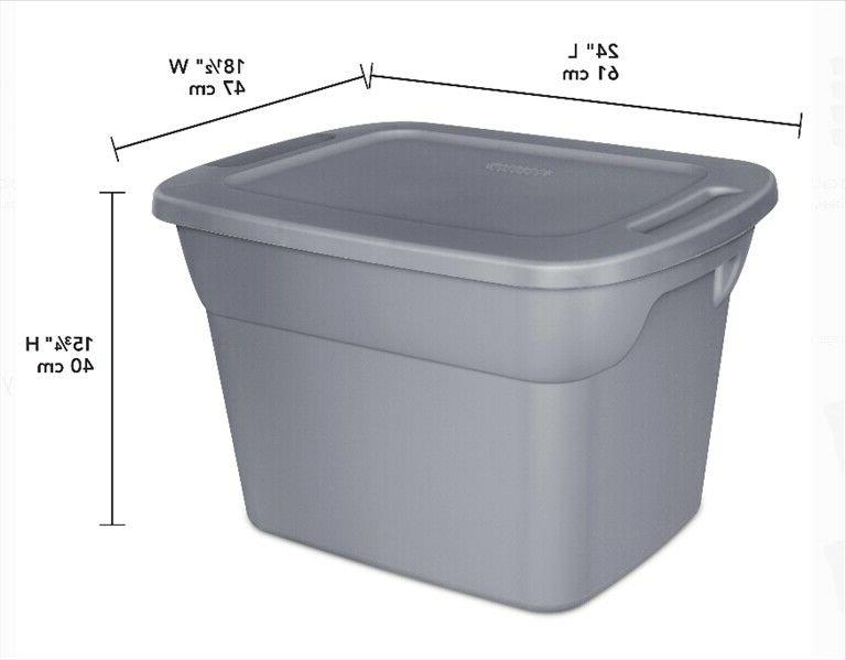 8 Stackable Tote Lid