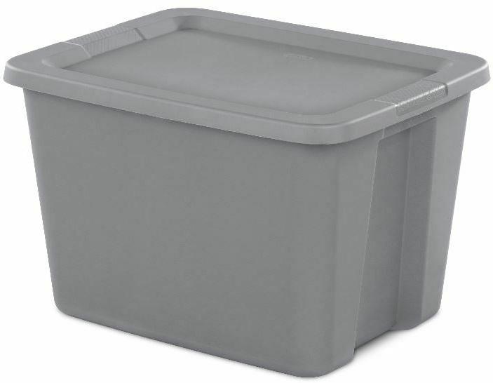 8 Tote Box Lid Stackable Home Organizer