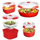8pc Sistema Microwave Cookware & Food Storage Container Set