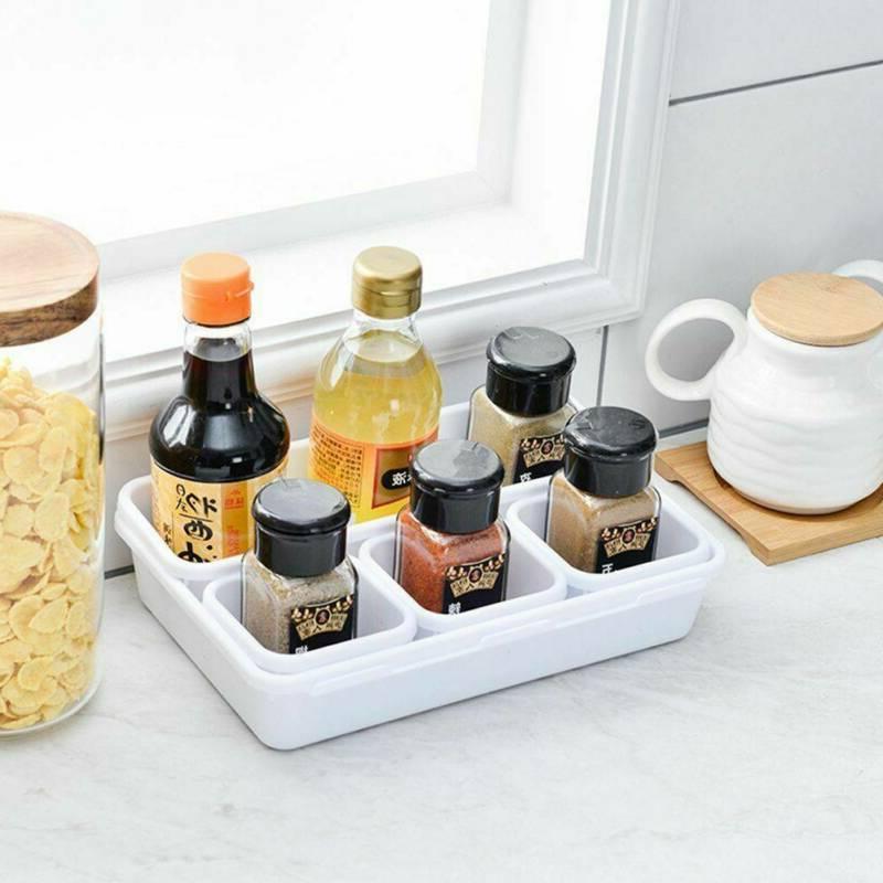 8Pcs Desk Drawer Organization Tray Trays Home Storage
