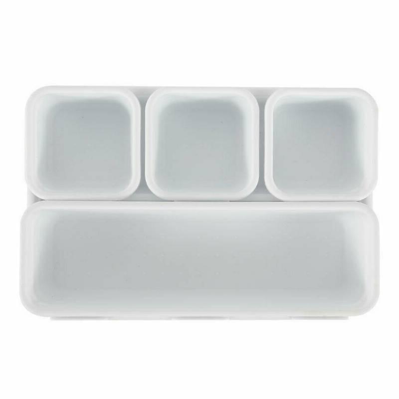 8Pcs Desk Organization Organizer Box Trays Storage