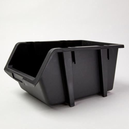 9-1/4 inch Storage Organizer Bin 4 Plastic