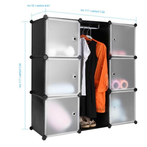 9-Cube Storage Organizer System for Home Toy